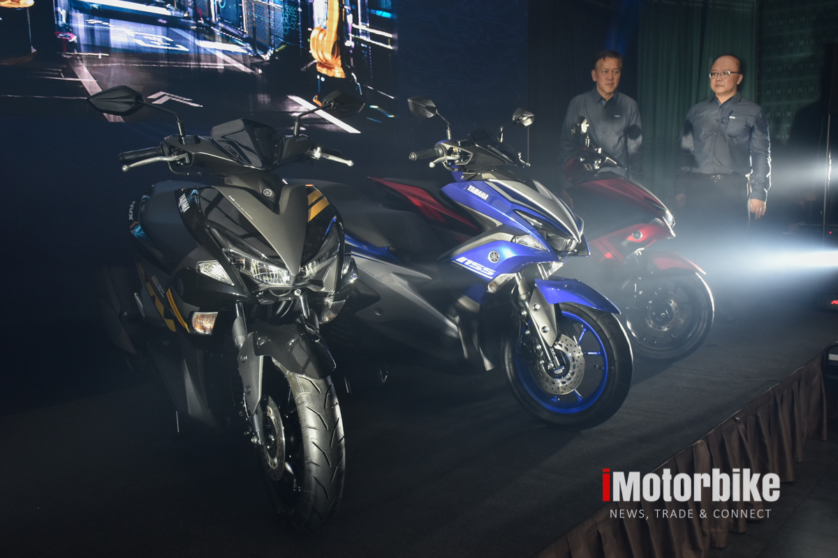 YAMAHA NVX LAUNCHED!: Priced from RM 10,500