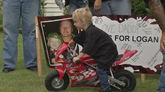 Young boy gets surprised with new bike after mini-bike is stolen