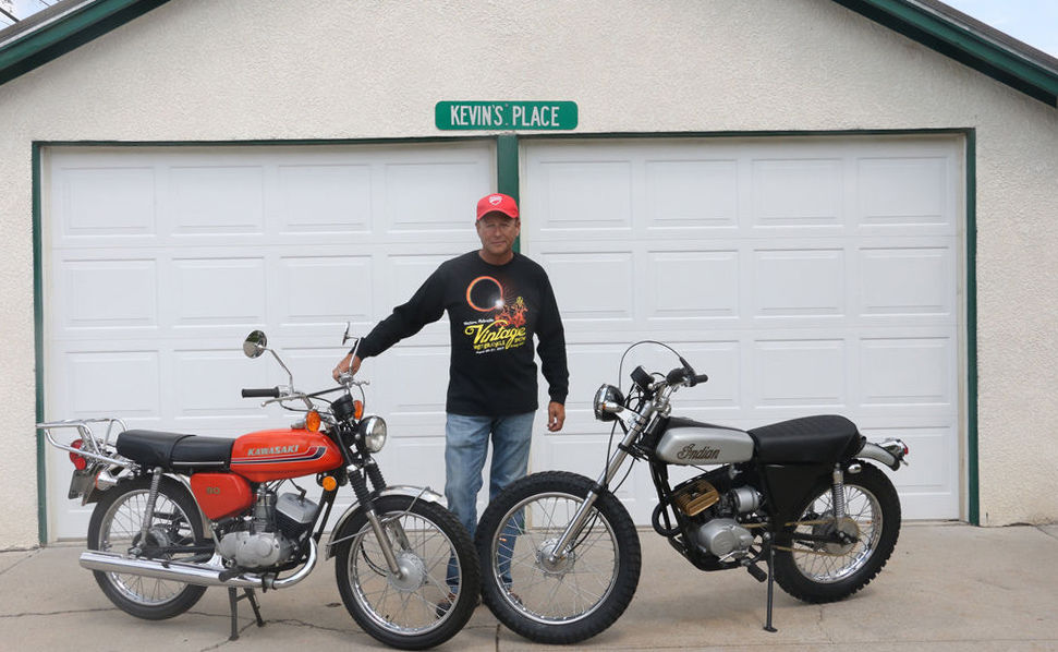 Lifelong passion for bikes to be displayed at vintage motorcycle show