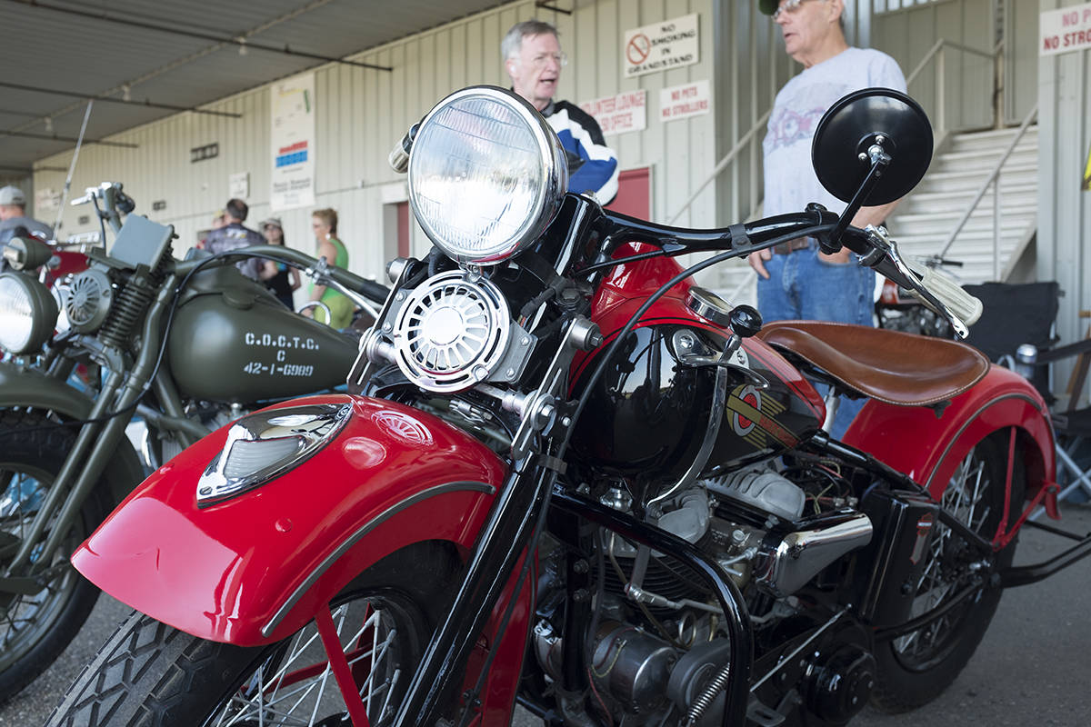 Ponoka fills town with retro vibes with vintage motorcycles
