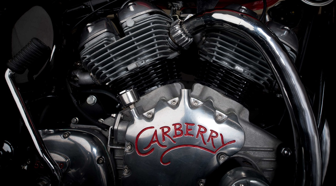 Carberry Motorcycles reveals India-made V-twin engine