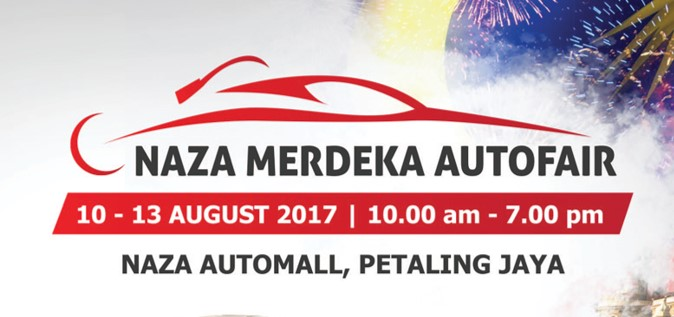 NAZA Merdeka Autofair 2017 is here!
