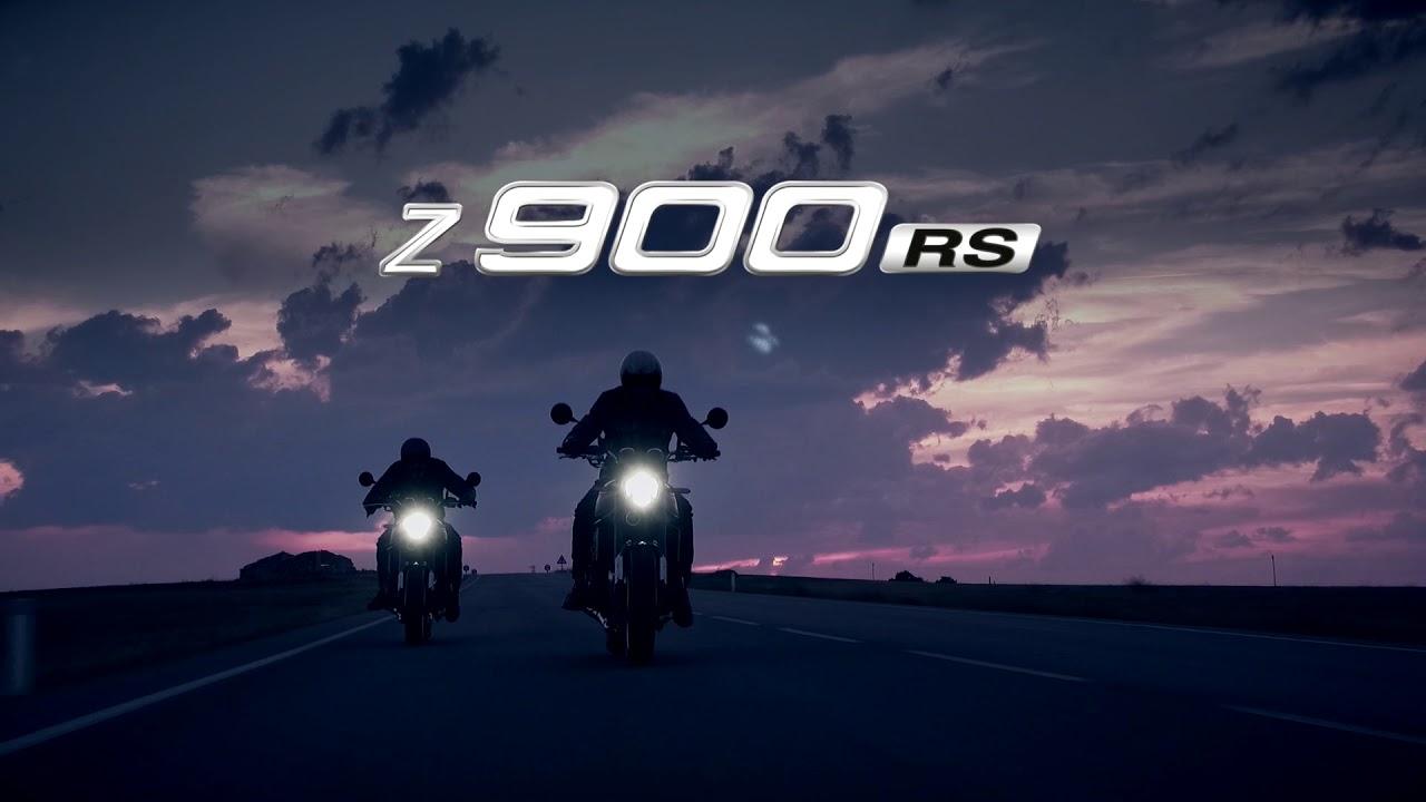 Take a look at the Kawasaki Z900RS teaser!