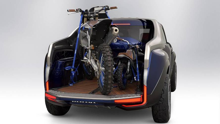 Yamaha reveals pick-up truck concept for motorcycle enthusiasts
