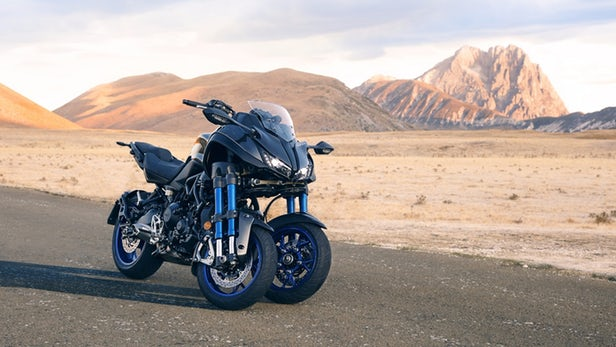 Yamaha introduces new three-wheeler concept bike Niken