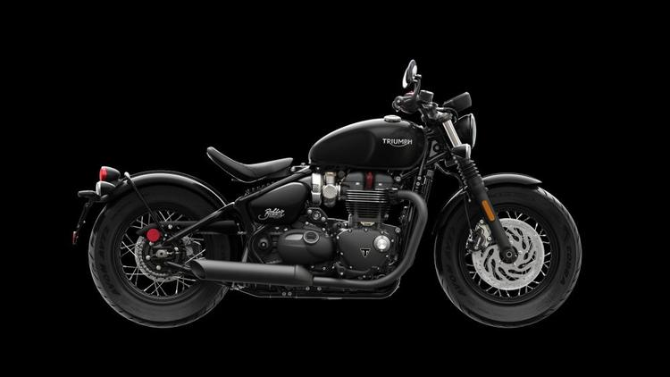 Triumph introduces all-new 2018 Bonneville Bobber Black