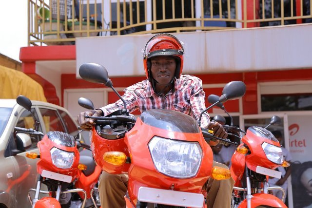 Ngoma trader wins bike for the second time in Airtel Tunga promotion