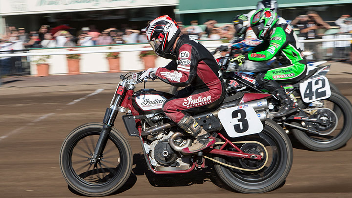 Indian Motorcycle dominates 2017 American Flat Track Championship