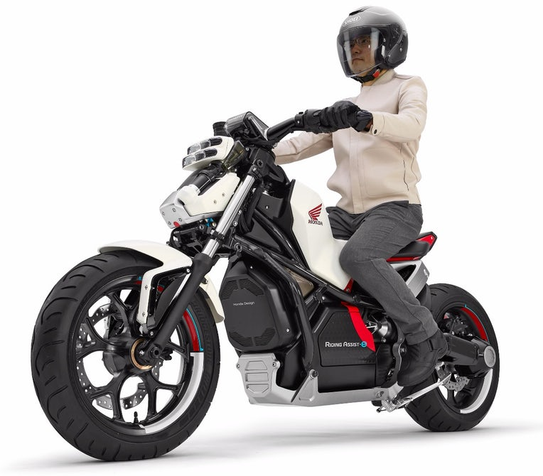 Honda to debut self-balancing motorcycle this month