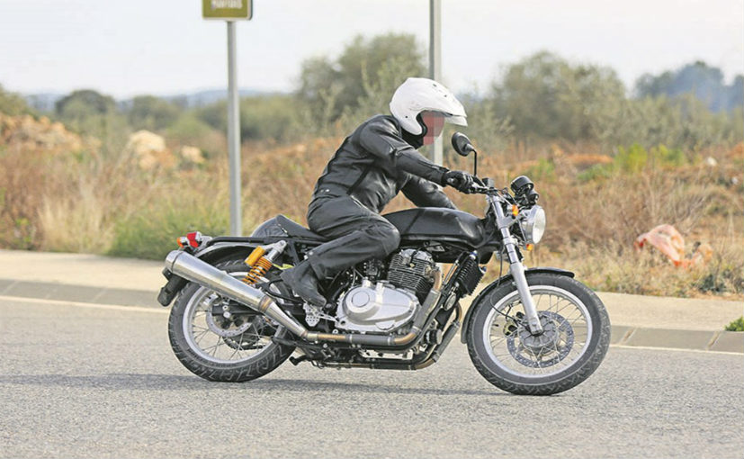 Royal Enfield hints new 750cc bike in a tweet?