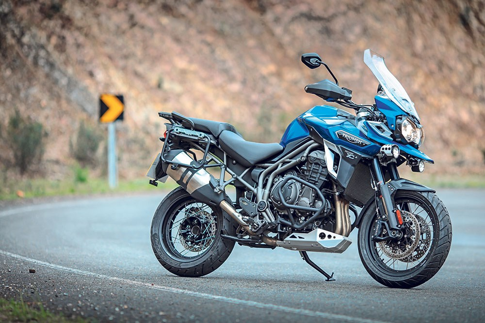 New adventure motorcycle Triumph Tiger teased in new video