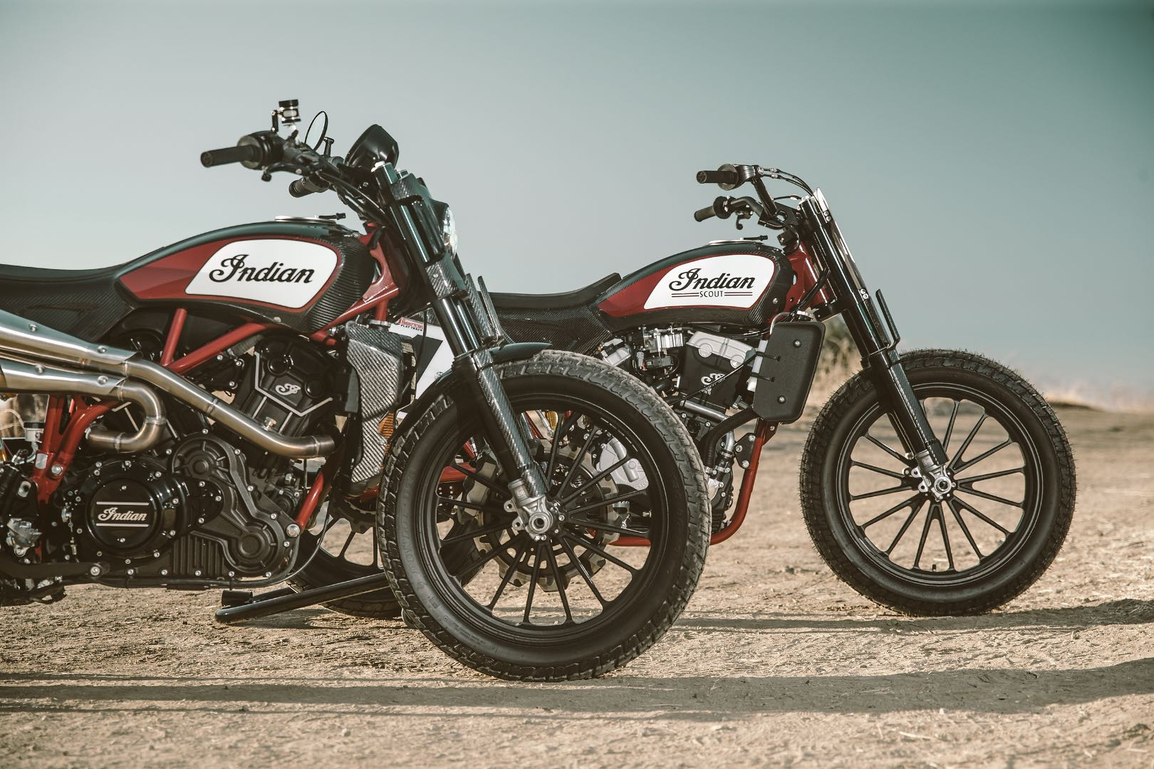 Indian Motorcycle reveals Scout FTR1200 Custom concept