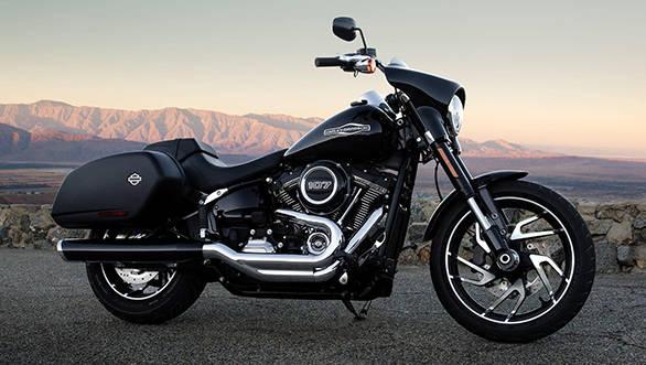 Harley-Davidson reveals new Sport Glide in EICMA Milan
