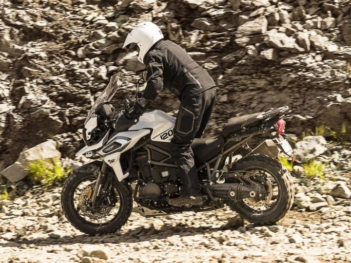 Triumph Motorcycles stuns crowd with all new Tiger 1200 range