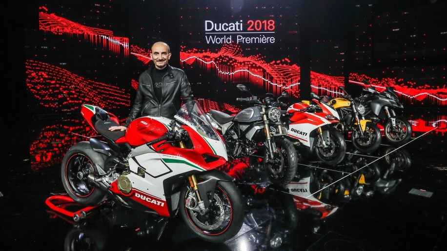 Ducati showcases four new motorcycles in 2018 World Première