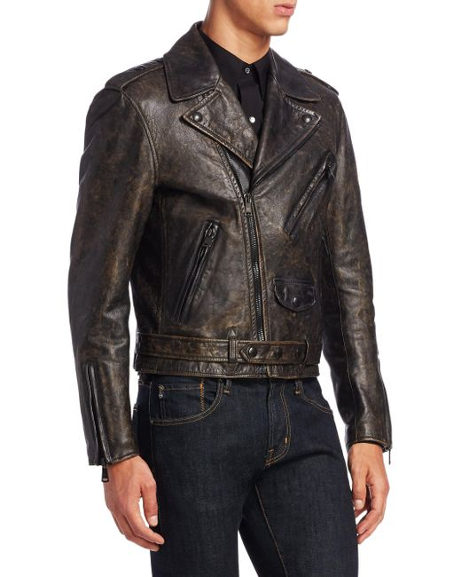Ralph Lauren introduces new motorcycle jacket Locklear