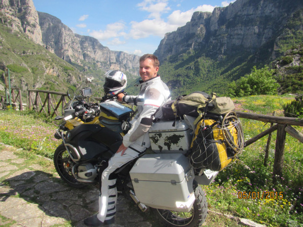 Man cruises over 104 countries in a span of five years on his BMW R1200GS