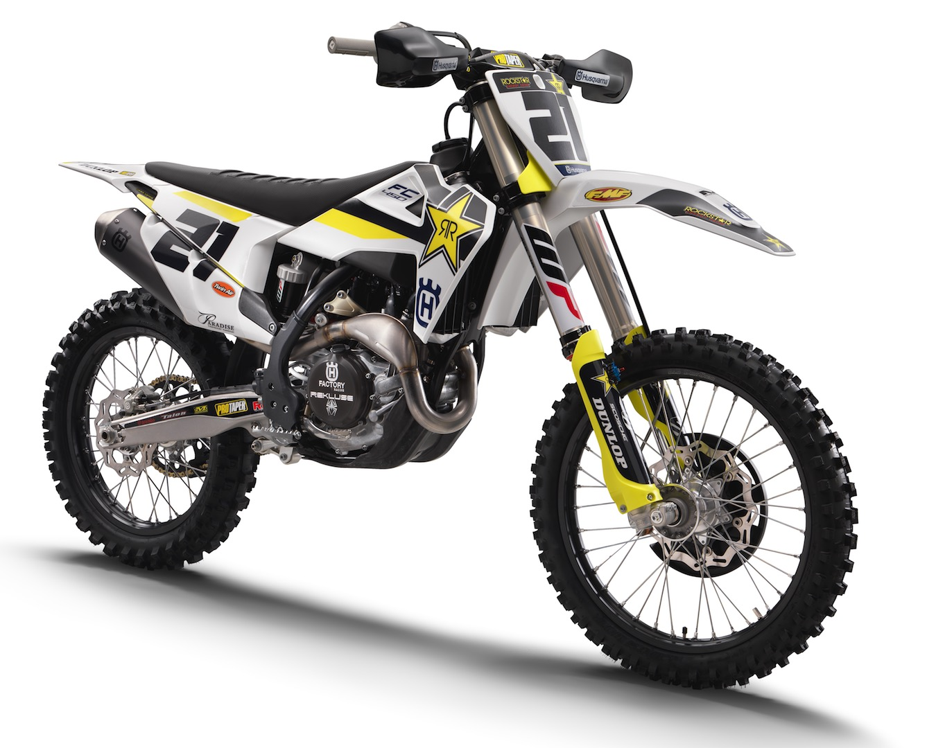 2018 Husqvarna FC 450 Rockstar Edition revealed - rocking up for the new year!