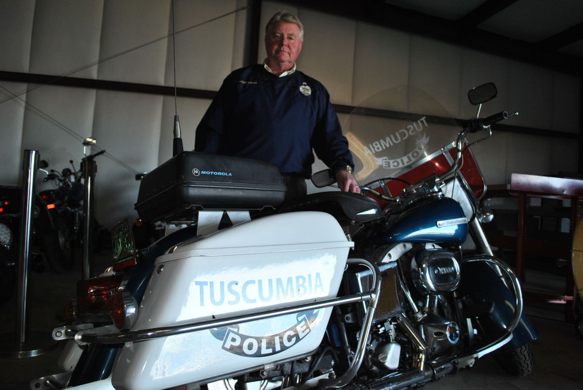 Tuscumbia Police Department brings 1974 Harley-Davidson back to life