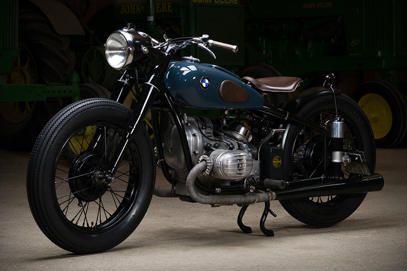 Take a look at the custom BMW R51/2 by Kontrast Kreations
