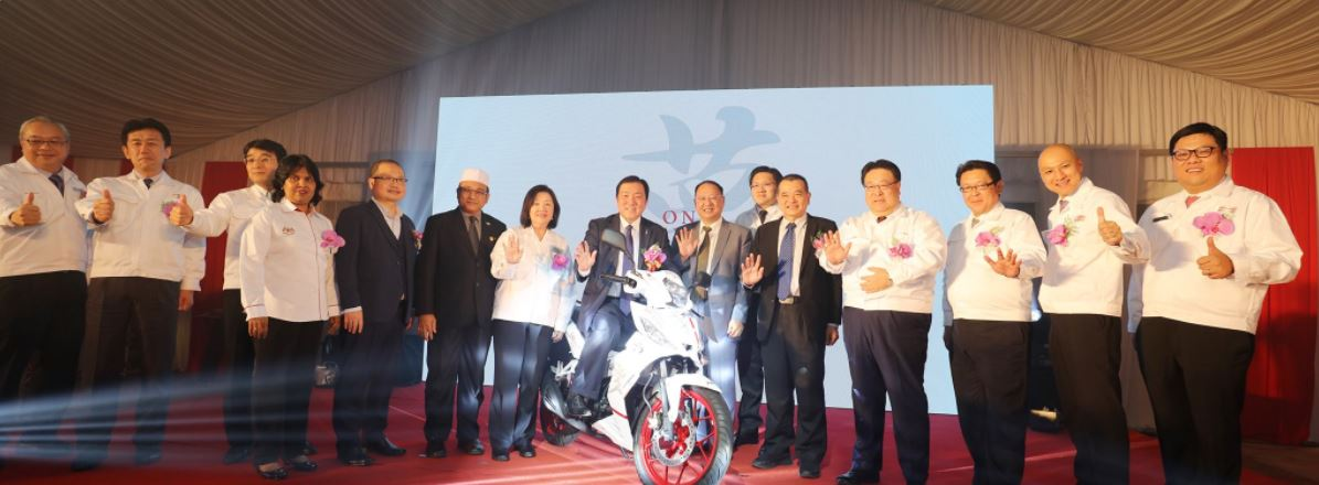 Boon Siew Honda celebrates diamond jubilee - 5 millionth bike produced!