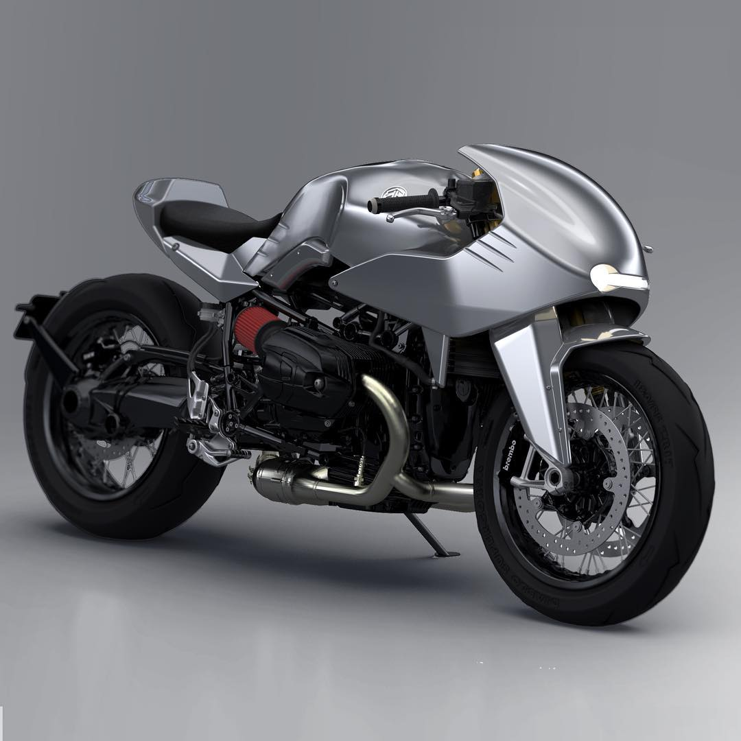 Dab Design unveils ER kit for BMW R nineT - no welding, grinding needed