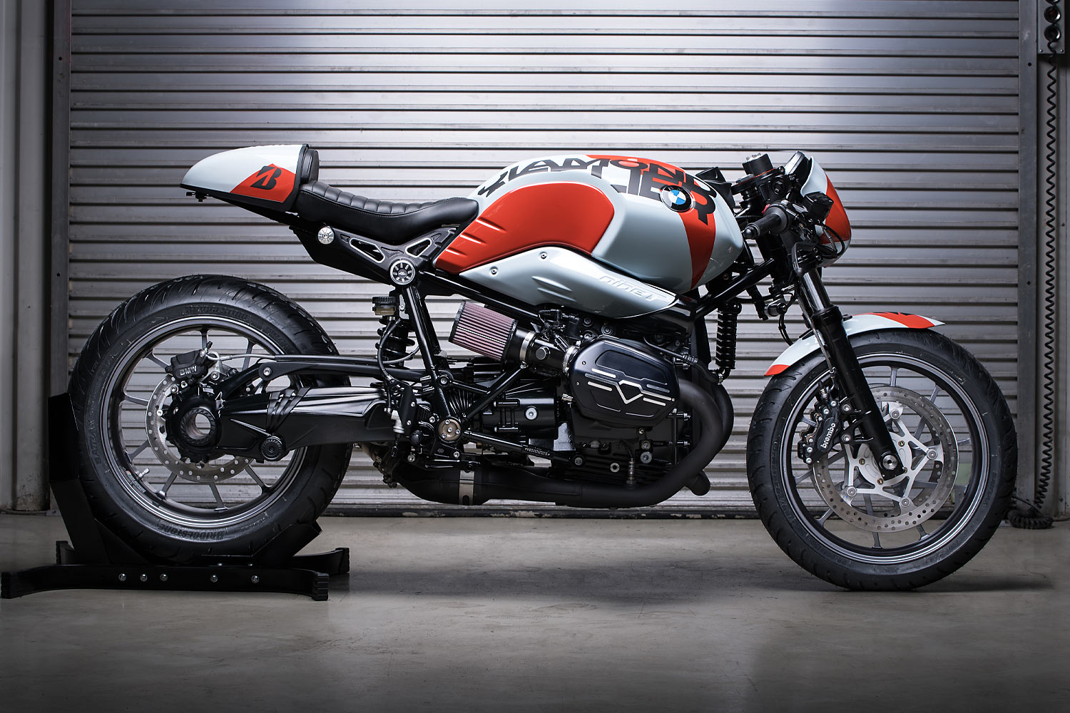 Diamond Atelier Bridgestone R nineT EICMA Special detailed