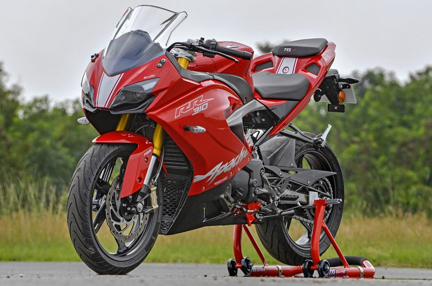 2018 TVS Apache RR 310 launched -  from 0-100km/h in just 2.9 seconds!