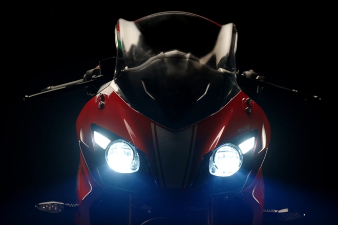 TVS Apache RR 310 teased online - to be launched in India on December 6