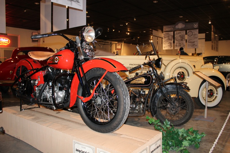National Packard Museum's 18th motorcycle exhibit to feature engines