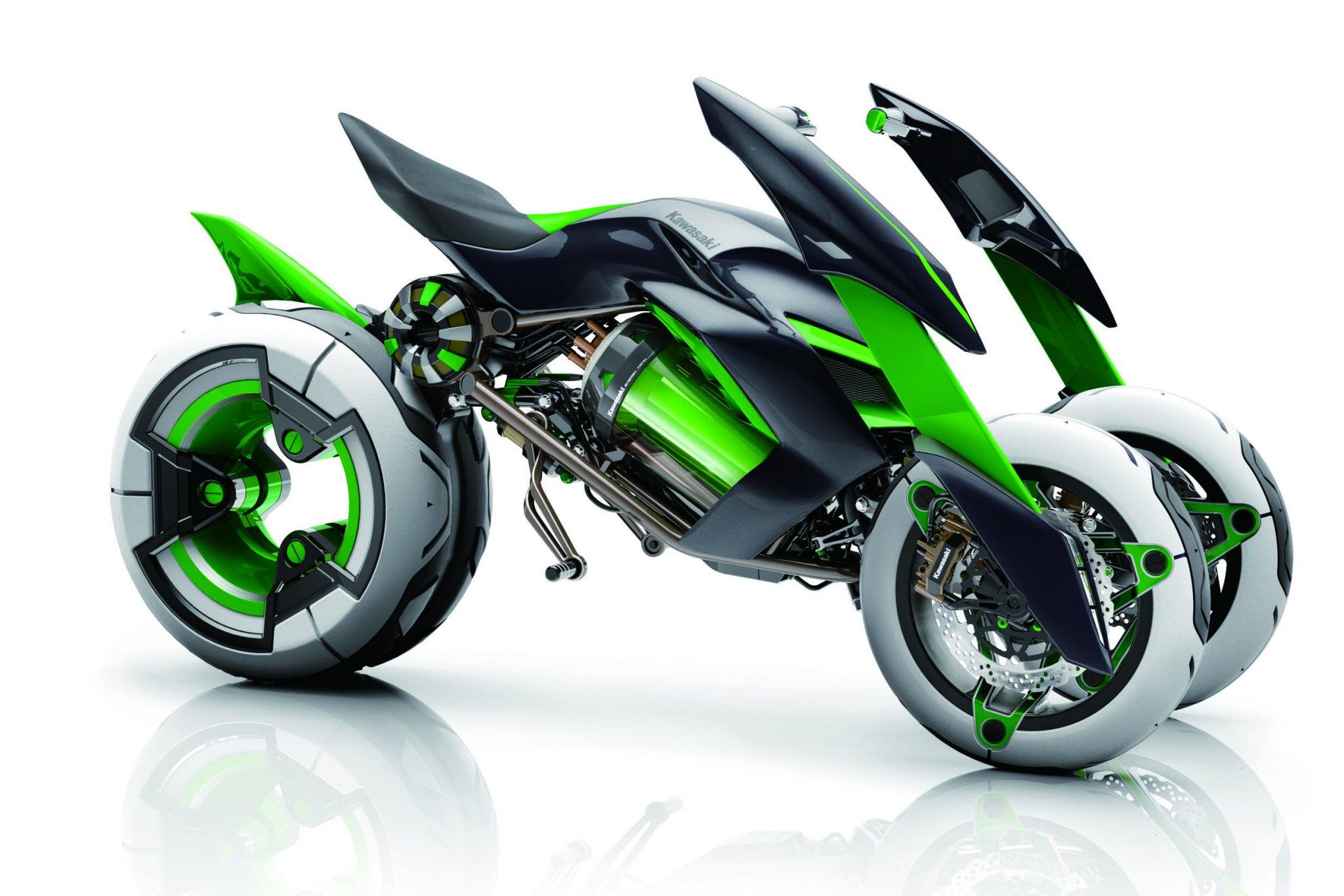 Kawasaki's US arm unveils new promo video for three-wheeler Concept J