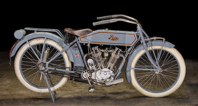 Steve McQueen's century-old 1914 61ci Model L Twin set to be auctioned