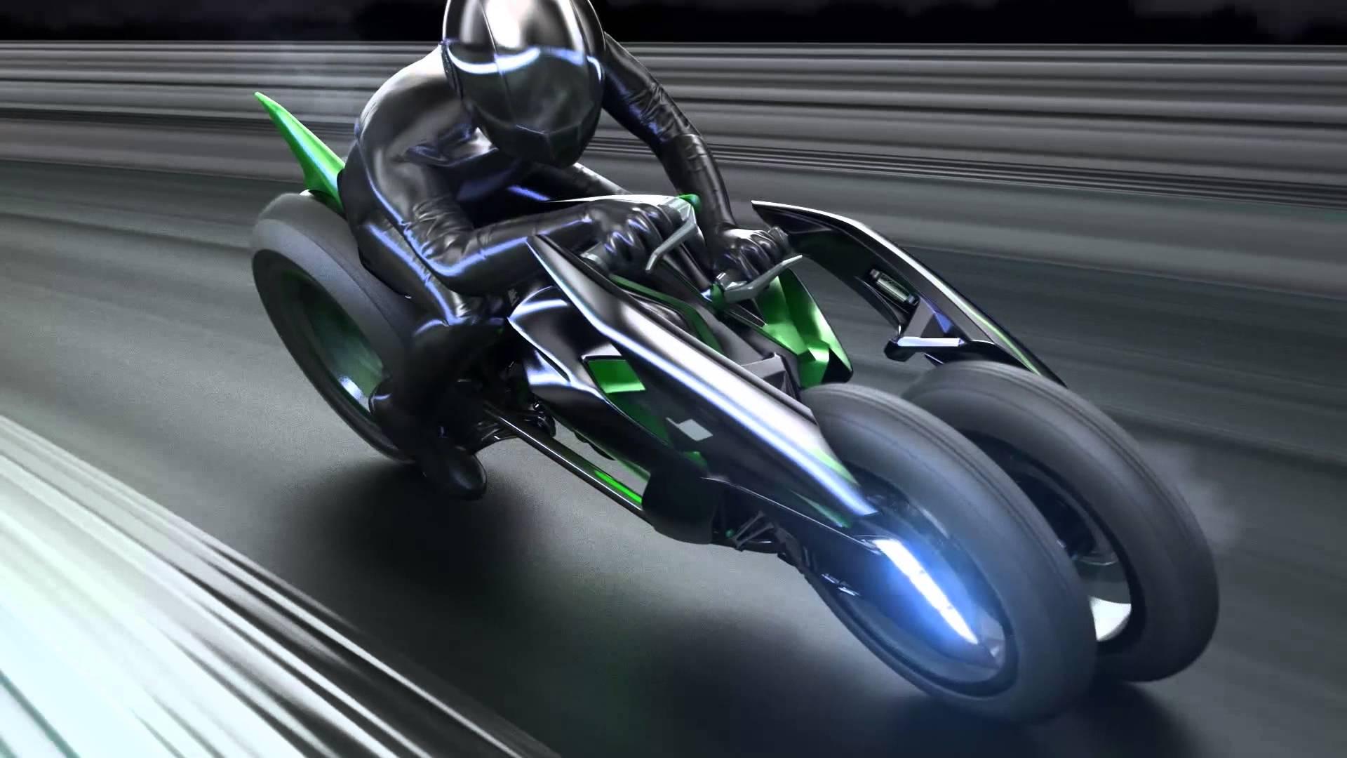 Kawasaki S Us Arm Unveils New Promo Video For Three Wheeler Concept