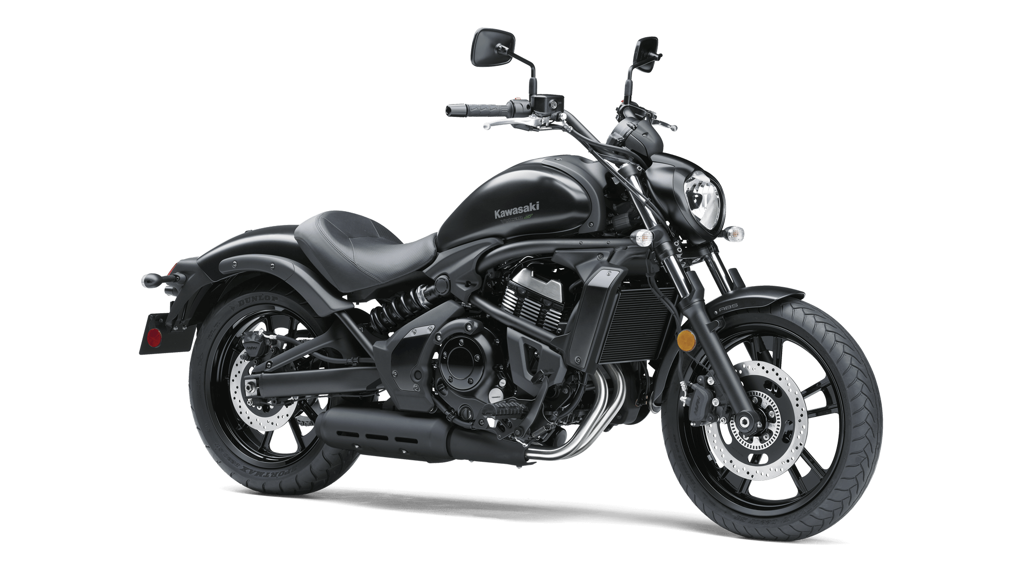 Take a look at the aesthetics of the black beauty Kawasaki Vulcan S