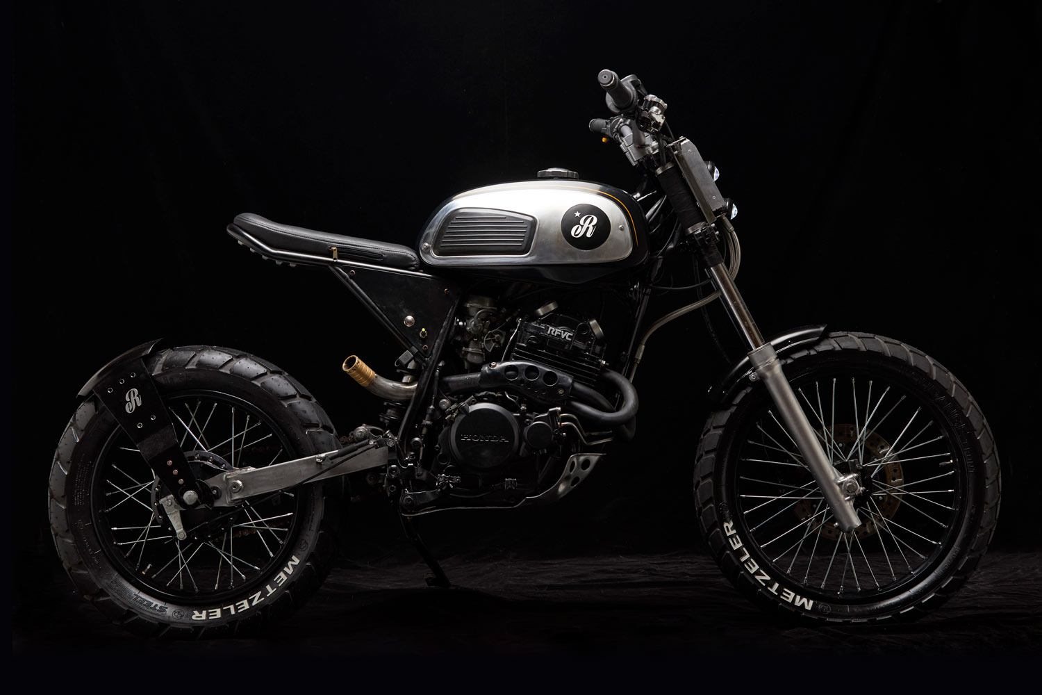Old is Gold - Republica Motocicletas reveals 1994 Honda NX350 'Old Power'