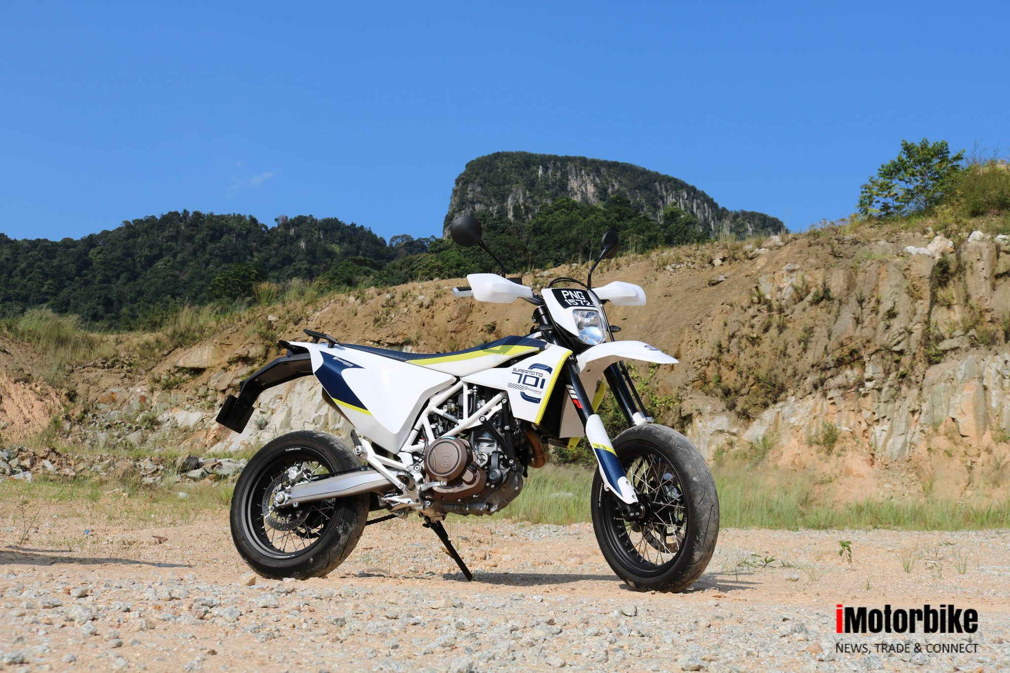 QUICK SPIN: Husqvarna 701 Supermoto - an oddball or a great all-rounder?