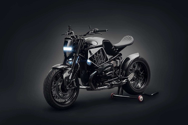 Mandrill Garage unveils customised BMW R nineT - a Far East 'Dark Fighter'