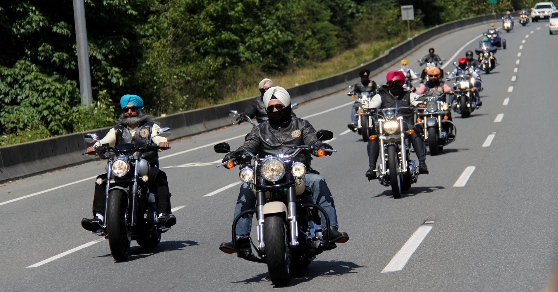 Turban-wearing Sikh riders in Alberta will be exempted from wearing helmets