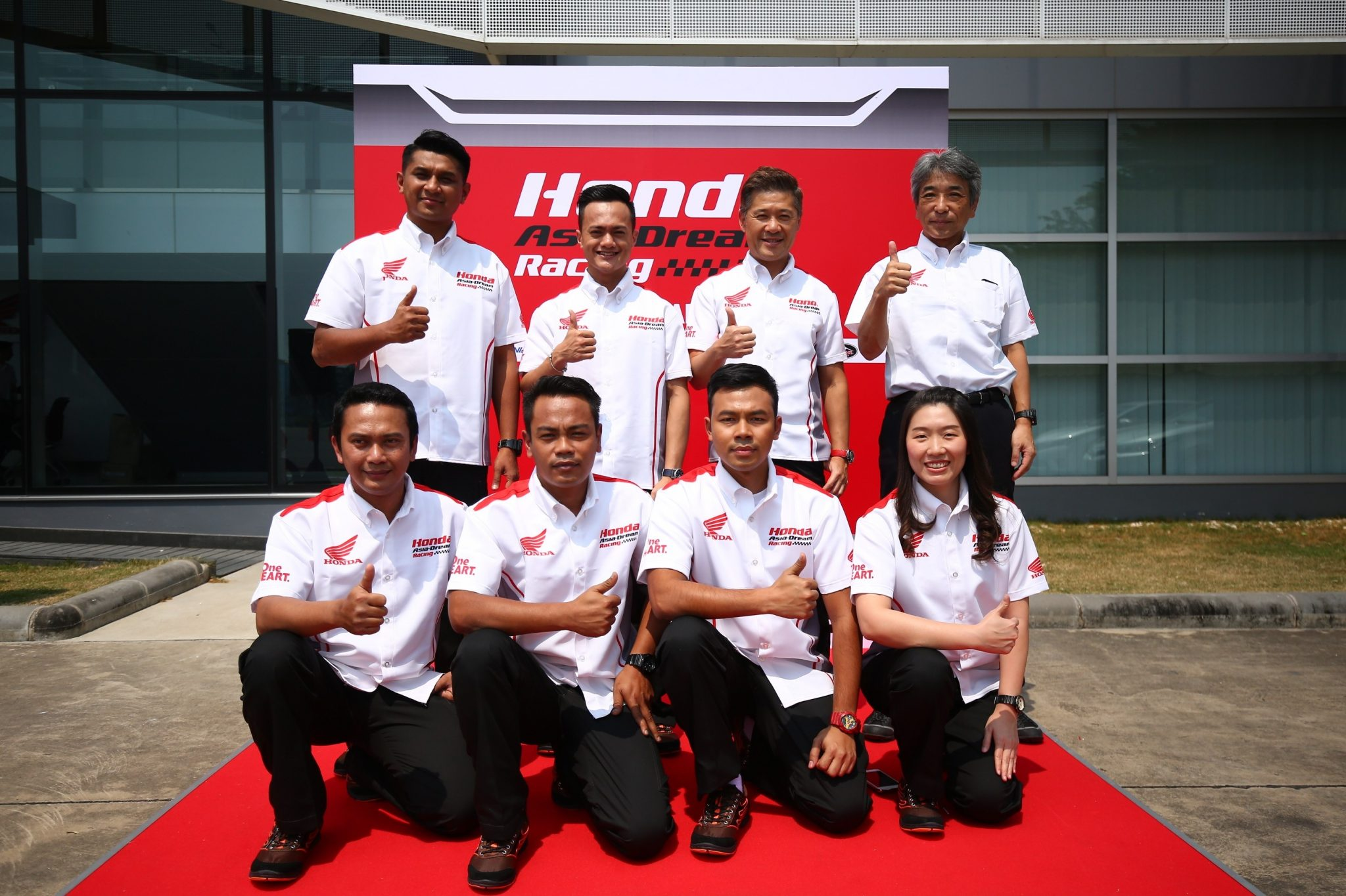 Zaqhwan Zaidi is the star rider in new Honda Asia-Dream Racing team