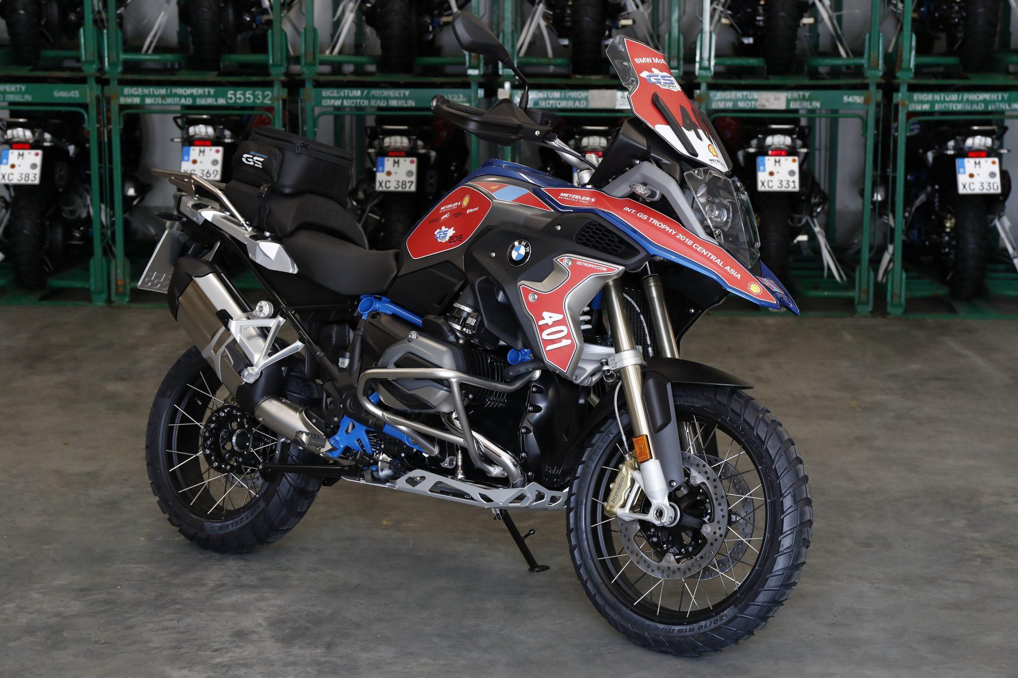 BMW Motorrad International GS Trophy bikes ready for action!