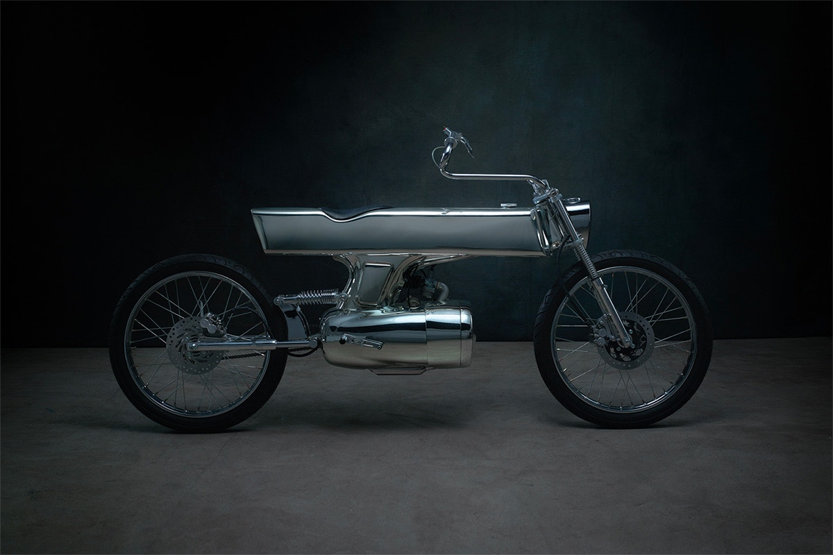 Bandit9 combines sci-fi and automotive with new L-Concept motorcycle