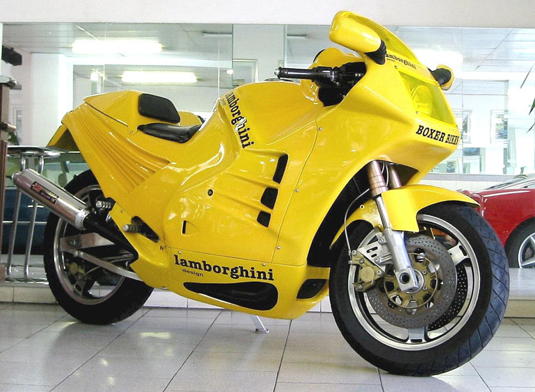 Did you know Lamborghini had a motorcycle called Design 90?