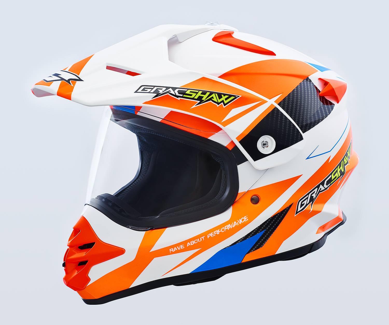 Get adventurous with the new Gracshaw Gazzer and Gazzer DV helmets