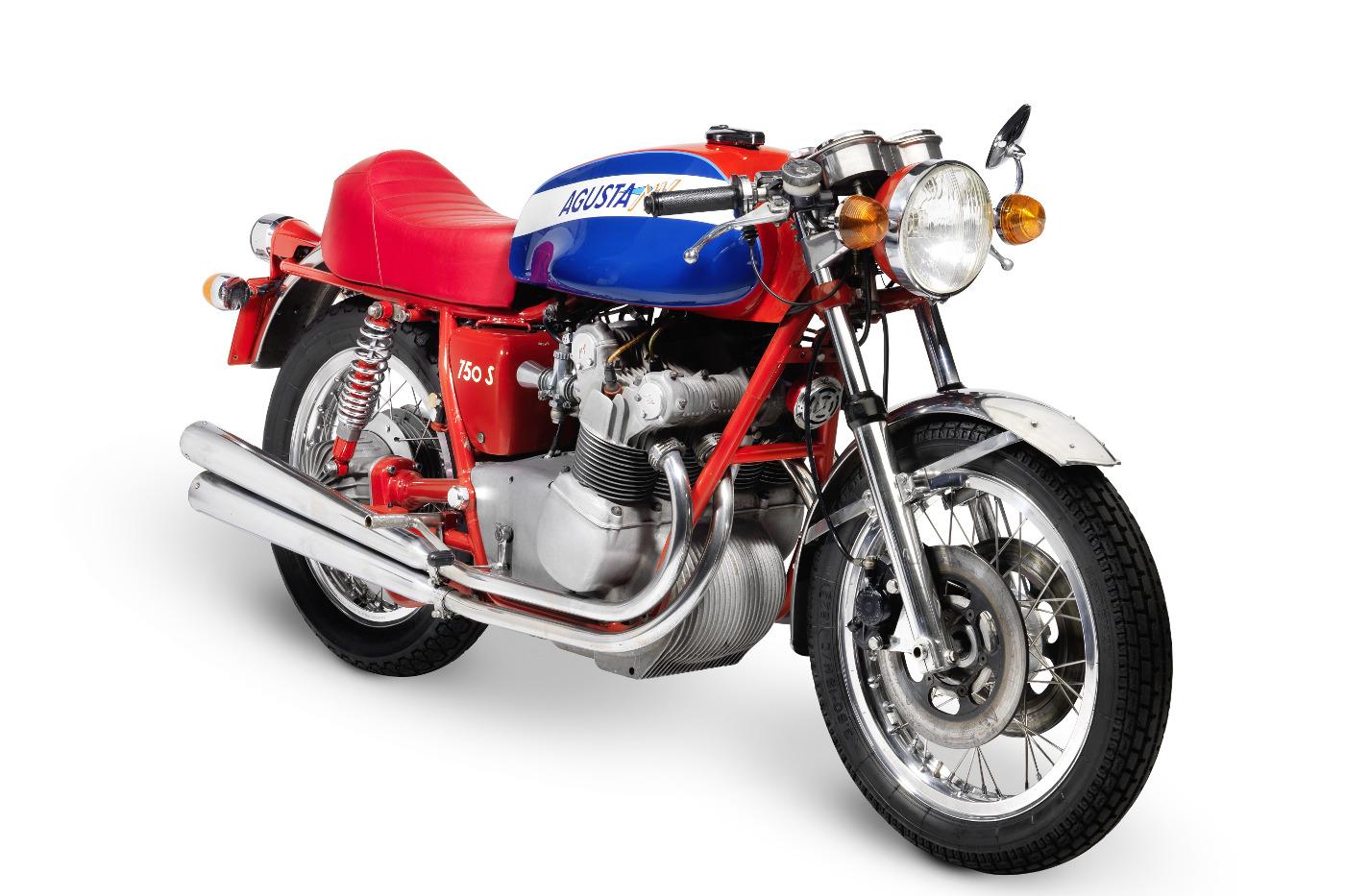 1973 MV Agusta 750 Sport is the star of Bonhams auction