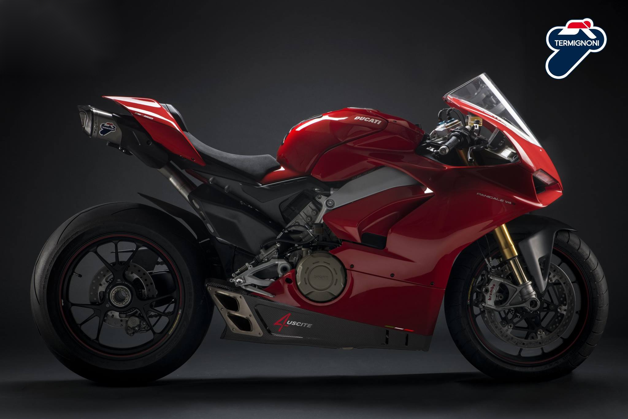Termignoni reveals the exotic 4Uscite exhaust for the Ducati Panigale V4