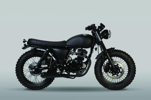 Mutt Motorcycles unveils dark and grungy Fat Sabbath 125