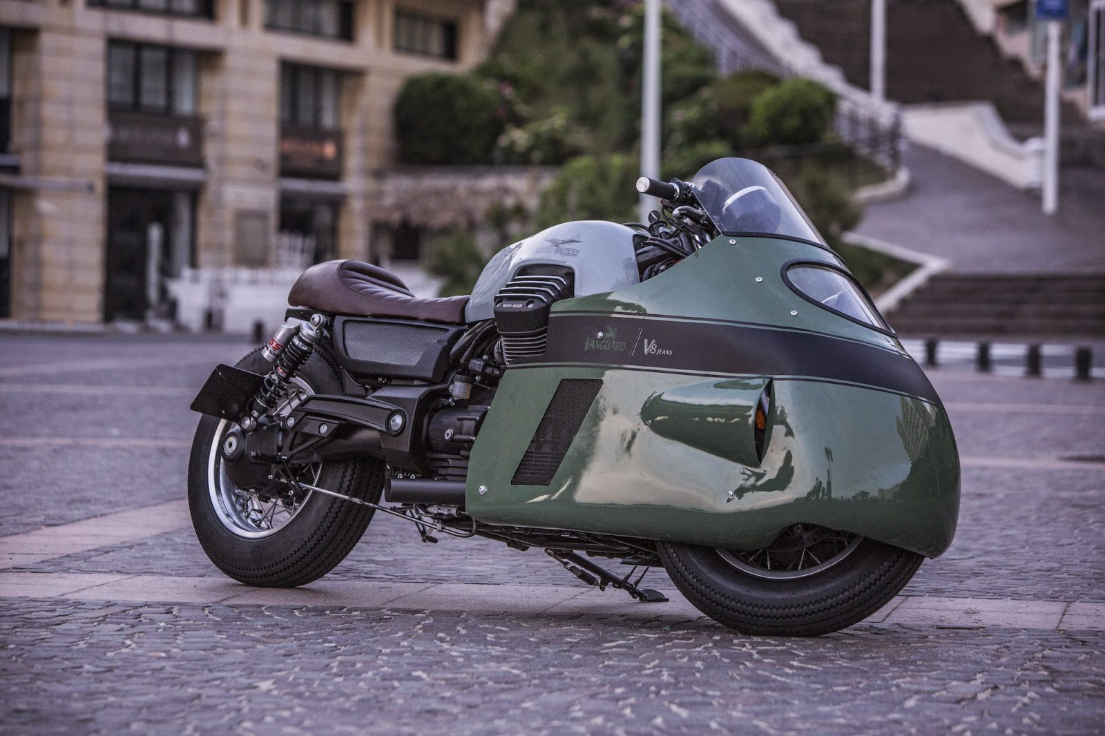 Numbnut Motorcycles Vanguard Moto Guzzi V8 – an homage to an icon