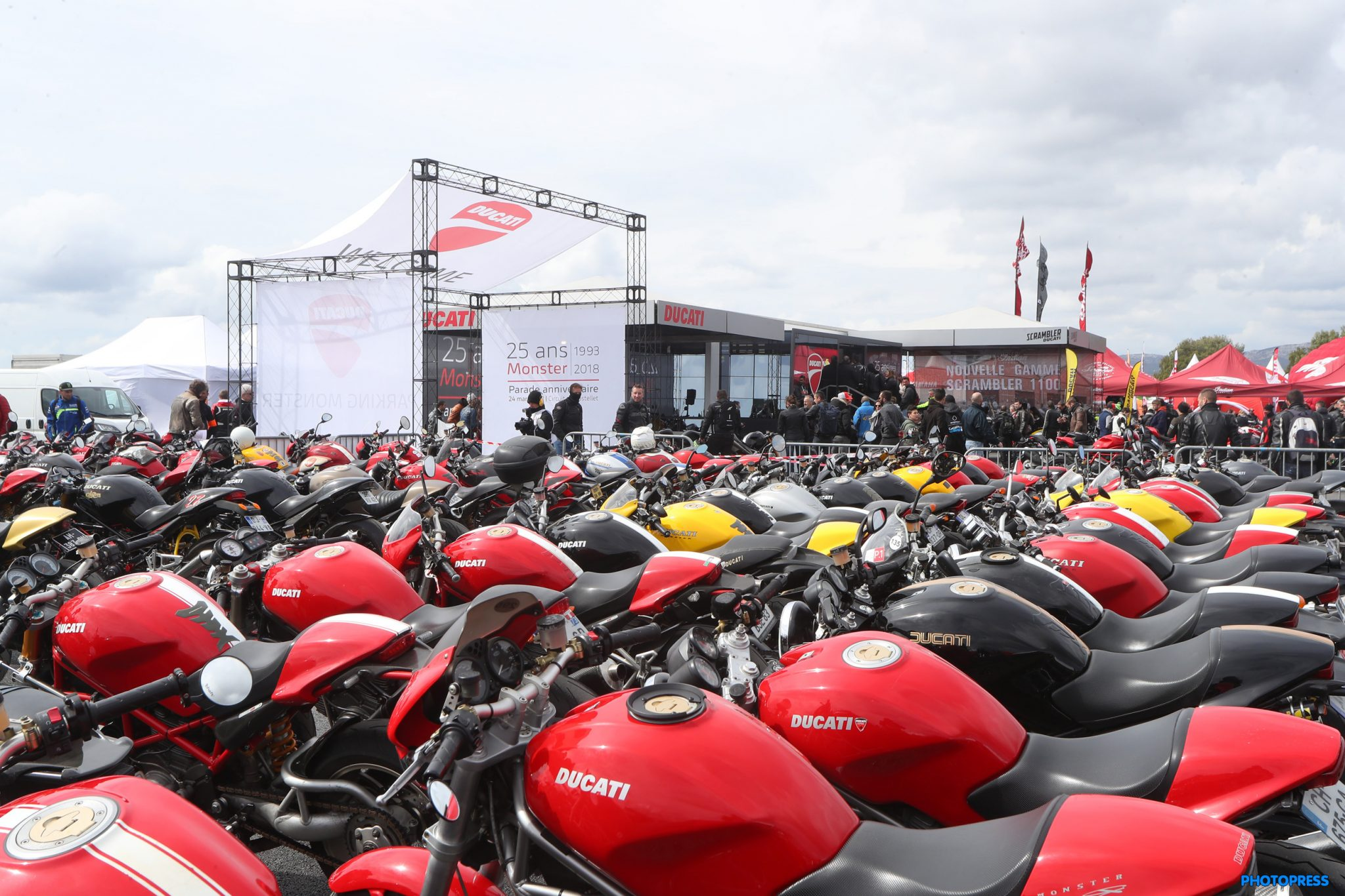 Ducati Monster Parade in Paul Ricard sets a new record!
