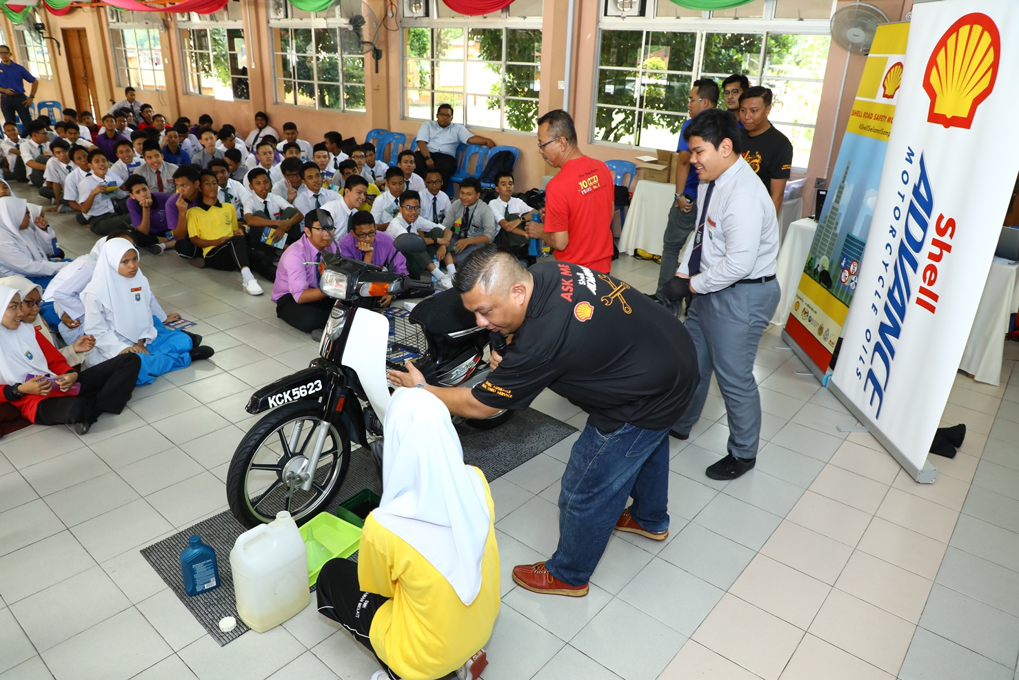 Shell Malaysia starts the 2018 Road Safety Movement