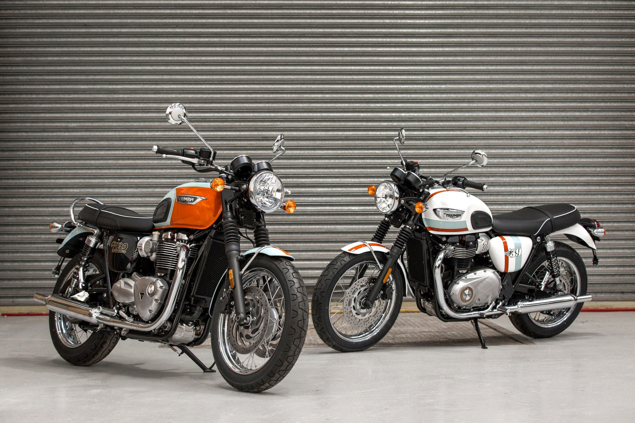 Triumph shows Bonneville's Spirit of 59 limited editions